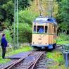 Die Bergischen Museumsbahnen laden alle 14 Tage sonntags zu einem nostalgischen Ausflug mit ihren liebevoll restaurierten Straßenbahnen durch das idyllische Kaltenbachtal ein.