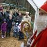 Der Nikolaus konnte wieder hunderte Kinder begrüßen.