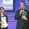 """Knipex-Chef Ralf Putsch nahm die Auszeichnung """"Eisen 2012"""" im Rahmen der Welcome-Party am ersten Messe-Abend der Eisenwarenmesse 2012 entgegen."""