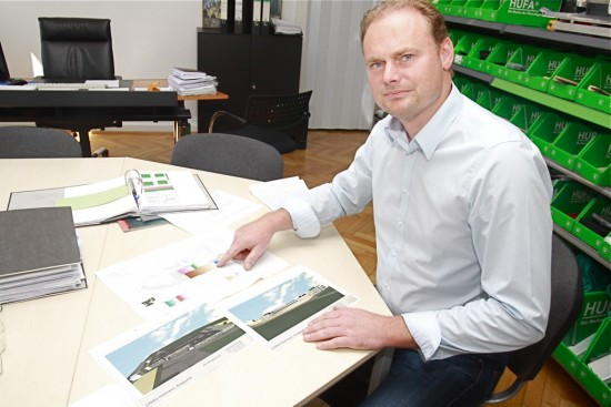 Die Pläne für den Wiederaufbau sind fertig und Alexander Holtmann hofft darauf, dass er bald damit beginnen kann, sie umzusetzen.