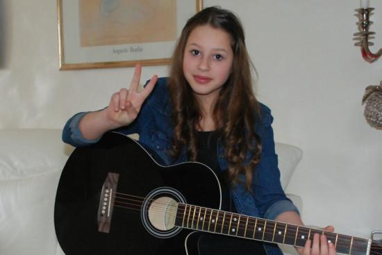 12 jährige lisa sopp tritt in der fernsehshow the voice kids an