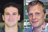 """""""Bäumchen wechsel dich"""" beim RSC: Marc Berenbeck übernimmt den Posten des Sportlichen Leiters beim Rollhockey-Bundesligisten, während Jordi Molet (li.) ihm als Cheftrainer folgt."""