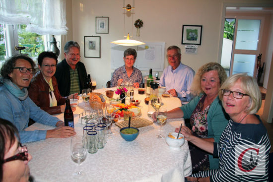 …und unter anderem bei der Familie Dembski konnte man den Dörper Restaurant-Tag ausklingen lassen.