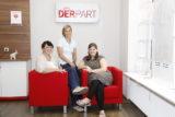 DERPART-Teamleiterin Ute Haupt sowie Jeanette Rückemann und Anja Schaarschmidt freuen sich darauf, viele Interessierte in ihrem neugestalteten Cronenberger DERRPART-Reisebüro begrüßen zu dürfen.