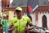 Sven Steup auf den letzten Ironman-Metern am Frankfurter Römer. -Foto: privat