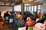 Bis auf den allerletzten Platz gefüllt war die Kulturschmiede Cronenberg, als der Trägerverein und die CW zum Dörper Wahl-Check einluden. -Foto: Meinhard Koke