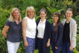 Bis Ende August 2019 werden die FBR-Fremdsprachenlehrerinnen Alida Aden, Ursula Küthe, Anne Butz, Linda Dannaks und Sabrina Hölscher (Foto v.l.n.r.) jeweils in Zweier-Teams mit europäischen Kollegen an englischsprachigen Fortbildungen in Irland, Schottland und Spanien teilnehmen – übrigens durchweg in den Schulferien. -Foto: privat
