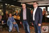 Sudbürger-Vorsitzender Peter Vorsteher konnte mit Andreas Mucke den Wuppertaler Oberbürgermeister beim September-Stammtisch des Sudberger Bürgervereins begrüßen. -Foto: Meinhard Koke