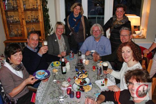 """Debütanten I: Zunächst """"hop"""", aber dann doch """"top"""" war es im Privat-Restaurant der Familie Wagner. -Foto: Juri Lietz"""