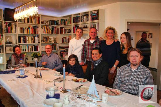 … Familie Jentzen dafür sorgte, dass die Dörper auf den Labskaus-Geschmack kamen. -Foto: Matthias Müller