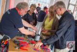 """Natürlich nutzt der Cronenberger Spezialist für Qualitätszangen seinen Aktionstag im Rahmen von """"Wuppertal 24h live"""" auch dazu, den Besuchern seine vielfach ausgezeichnete Produkt-Palette zu präsentieren. -Foto: Marcus Müller"""