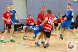 Einen harten Kampf lieferten sich die CTG-Handballer mit dem LTV II. – Foto: Marcus Müller