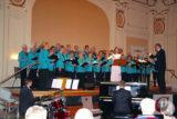 Der Damenchor Cronenberg bei seinem herbstlichen Konzertauftritt in der ehrwürdigen Historichen Stadthalle. -Foto: Matthias Müller