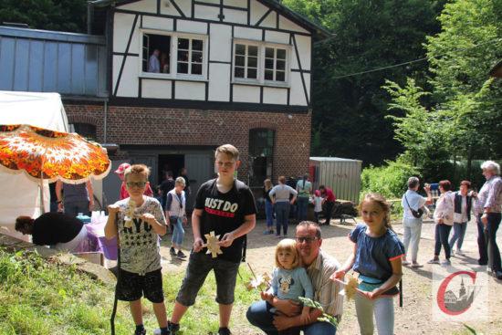 Das Mühlenfest am Manuelskotten war auch wieder ein lohnendes Pfingst-Ausflugsziel für die ganze Familie. | Foto: Matthias Müller