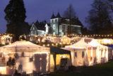 Unübersehbar: Der Romantische Weihnachtsmarkt auf Schloss Grünewald garantiert für einen stimmungsvollen Advents-Bummel… | Foto: Veranstalter