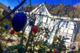 Trotz Corona – nicht nur bunte Ostereier sowie bergisches Fachwerk, auch die Natur bringt im denkwürdigen Corona-Frühjahr 2020 viel Farbe in das eingeschränkte Leben im CW-Land. | Foto: Meinhard Koke
